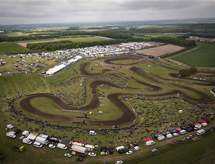 Full noise at the FULLBACK MXGP of Great Britain