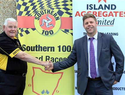 Island Aggregates Set Foundations for Long Term Sponsorship of Southern 100 Race