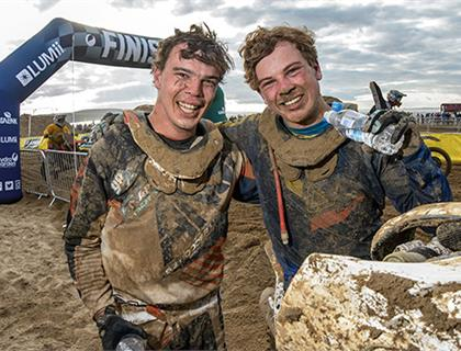 Somerset's Kellett wins the HydroGarden Weston Beach Race