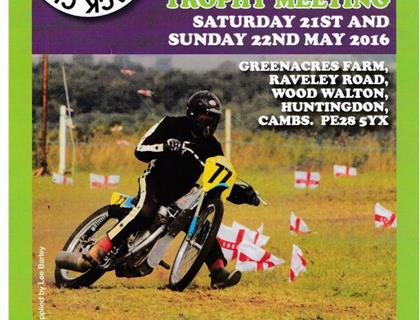 A Weekend of Grasstrack action as Fenland host the Jon Underwood Trophy Meeting