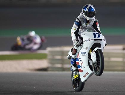 Superb season start for John McPhee as he takes second in Qatar