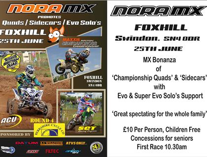 Maxxis ACU British Sidecar Cross Championship moves to Foxhill on Sunday