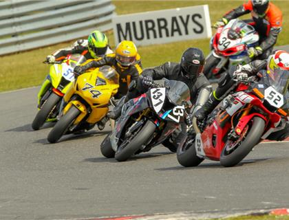 Close racing at Snetterton for the BMCRC Championships