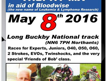 Bob Collier Trophy Charity MX – 8th May – Long Buckby