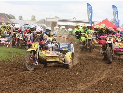 Brown and Chamberlain take victory at Round 3 of the MAXXIS ACU Britsih Sidecarcross Championships