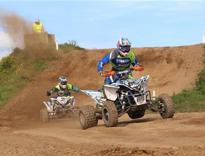 Holmes turns the tables to head back to the Top of the British Quad Championship