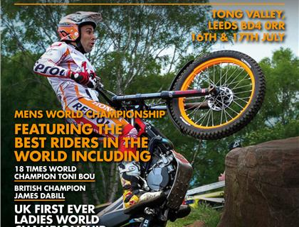 Advanced Tickets on Sale Now for the Wulfsport Oset Yorkshire World Trial Championship at Tong