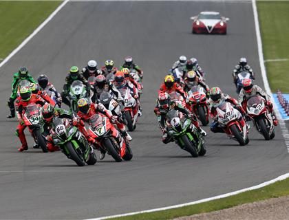 Sykes completes historic World Superbike double in front of huge Donington crowd