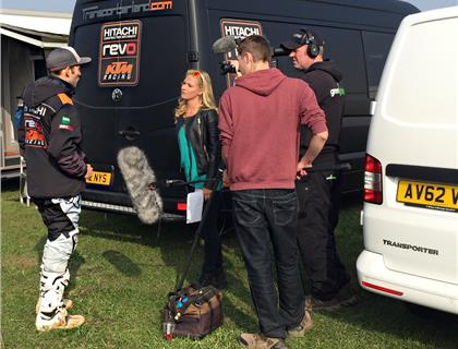 Maxxis media magic with Paul Malin and Amy Henry