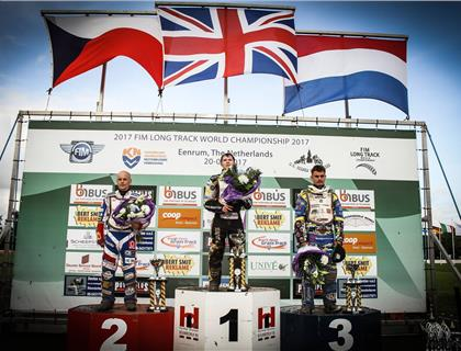 James Shanes wins at FIM Long Track World Championship Final – Round 4