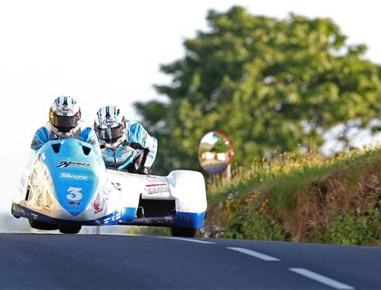 Holden & Winkle top second sidecar qualifying session of TT 2016